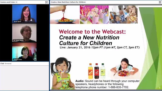 webcast screenshot