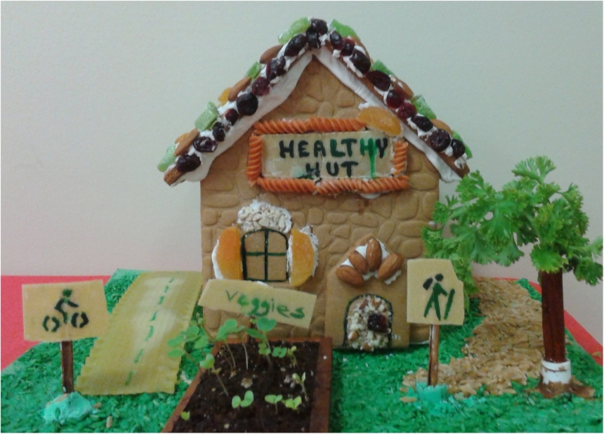 healthy hut front